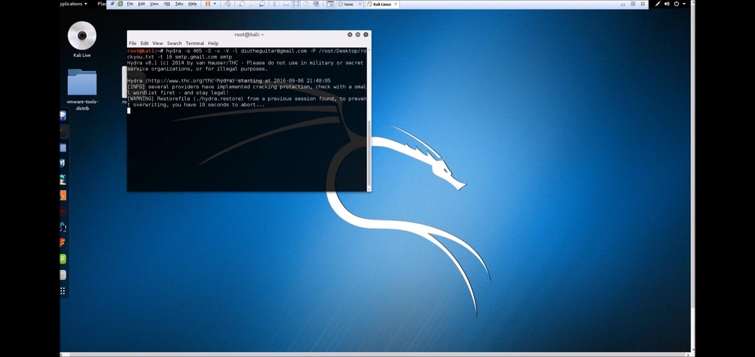 Activer la persistence sur une clé usb Kali Linux